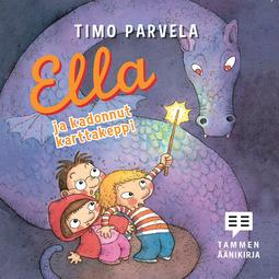 Parvela, Timo - Ella ja kadonnut karttakeppi, äänikirja