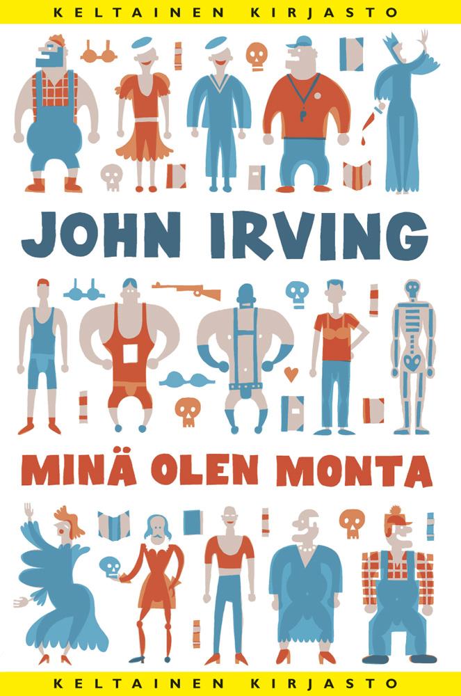 Irving, John - Minä olen monta, ebook