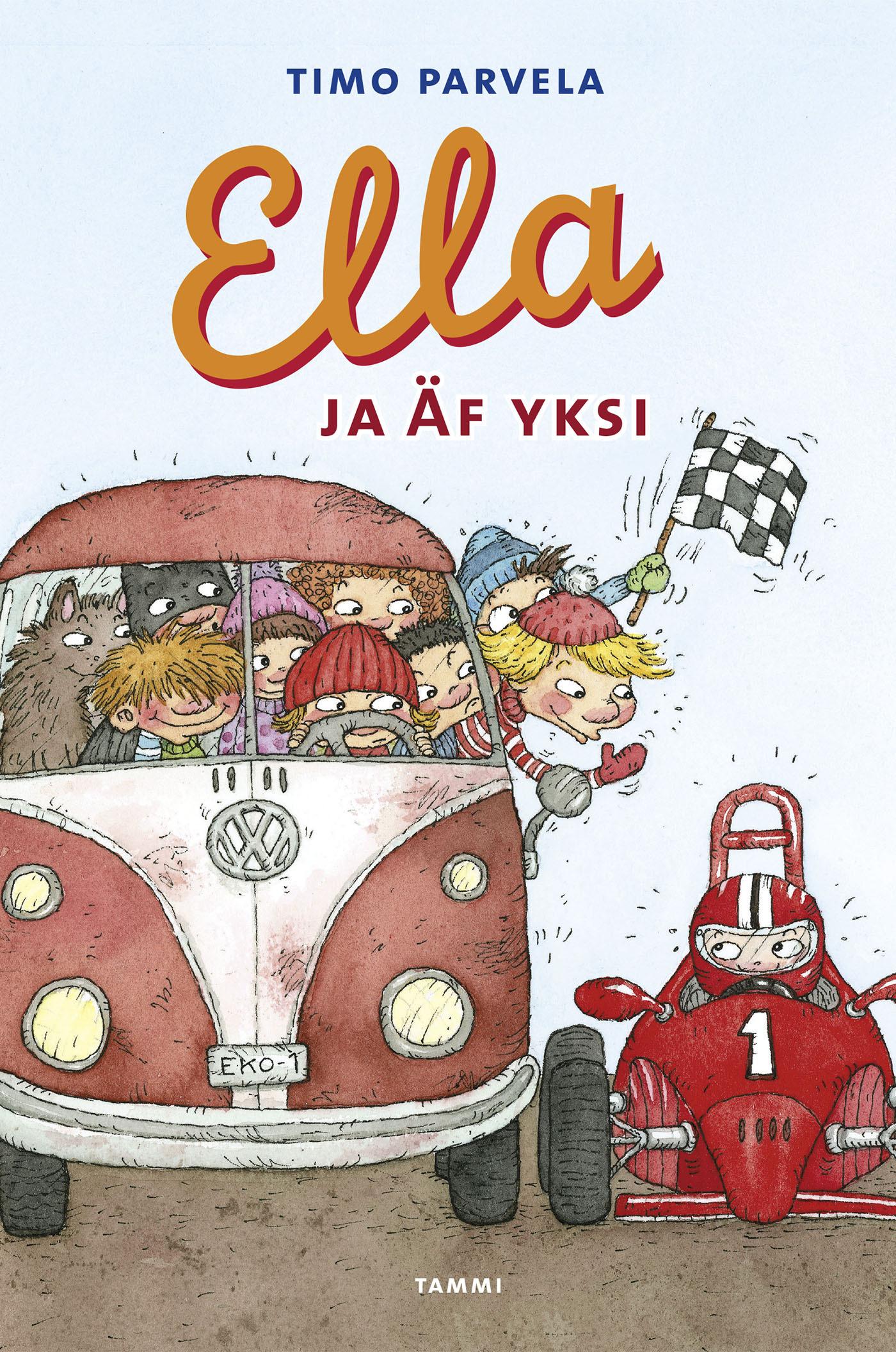 Parvela, Timo - Ella ja Äf Yksi, e-kirja