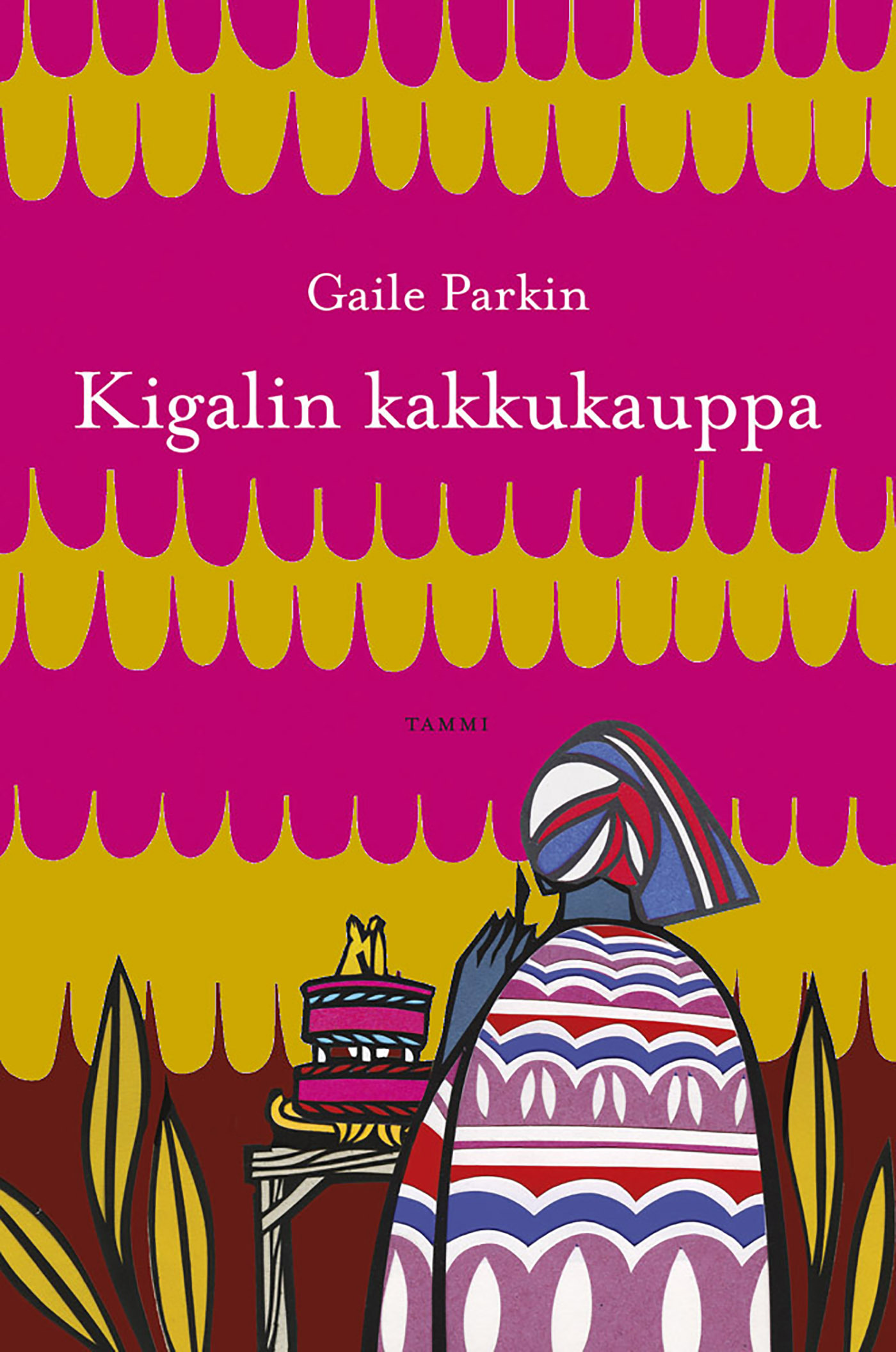Parkin, Gaile - Kigalin kakkukauppa, e-kirja