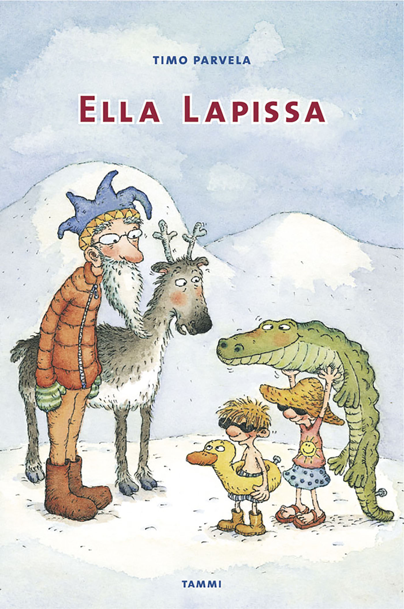 Parvela, Timo - Ella Lapissa, ebook