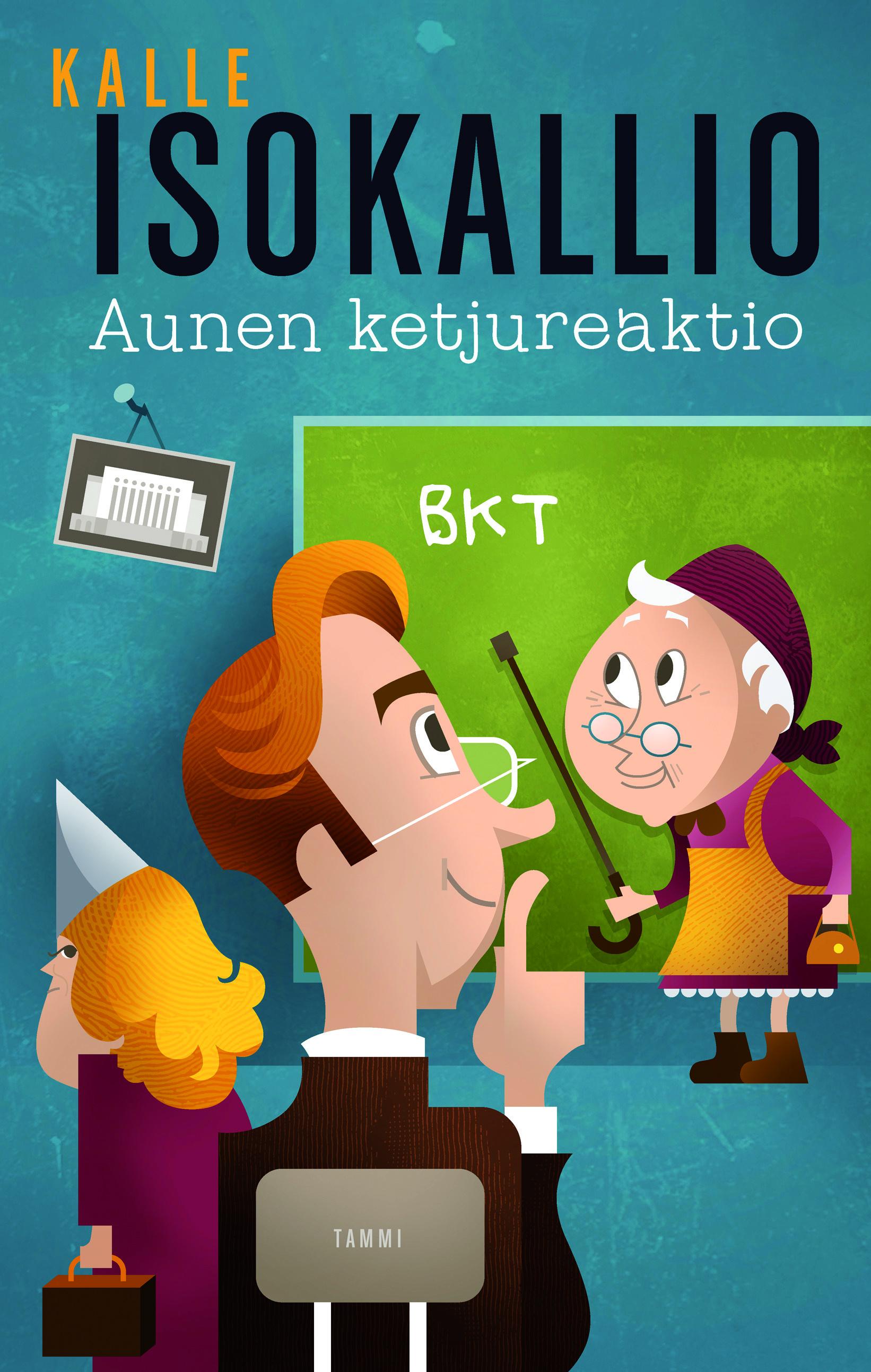 Isokallio, Kalle - Aunen ketjureaktio, e-kirja