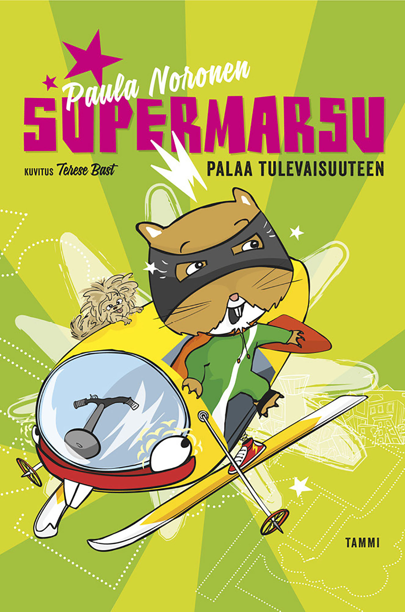 Noronen, Paula - Supermarsu palaa tulevaisuuteen, e-kirja