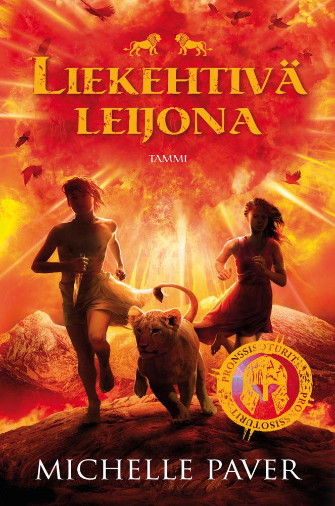 Paver, Michelle - Liekehtivä leijona: Pronssisoturit 2, ebook