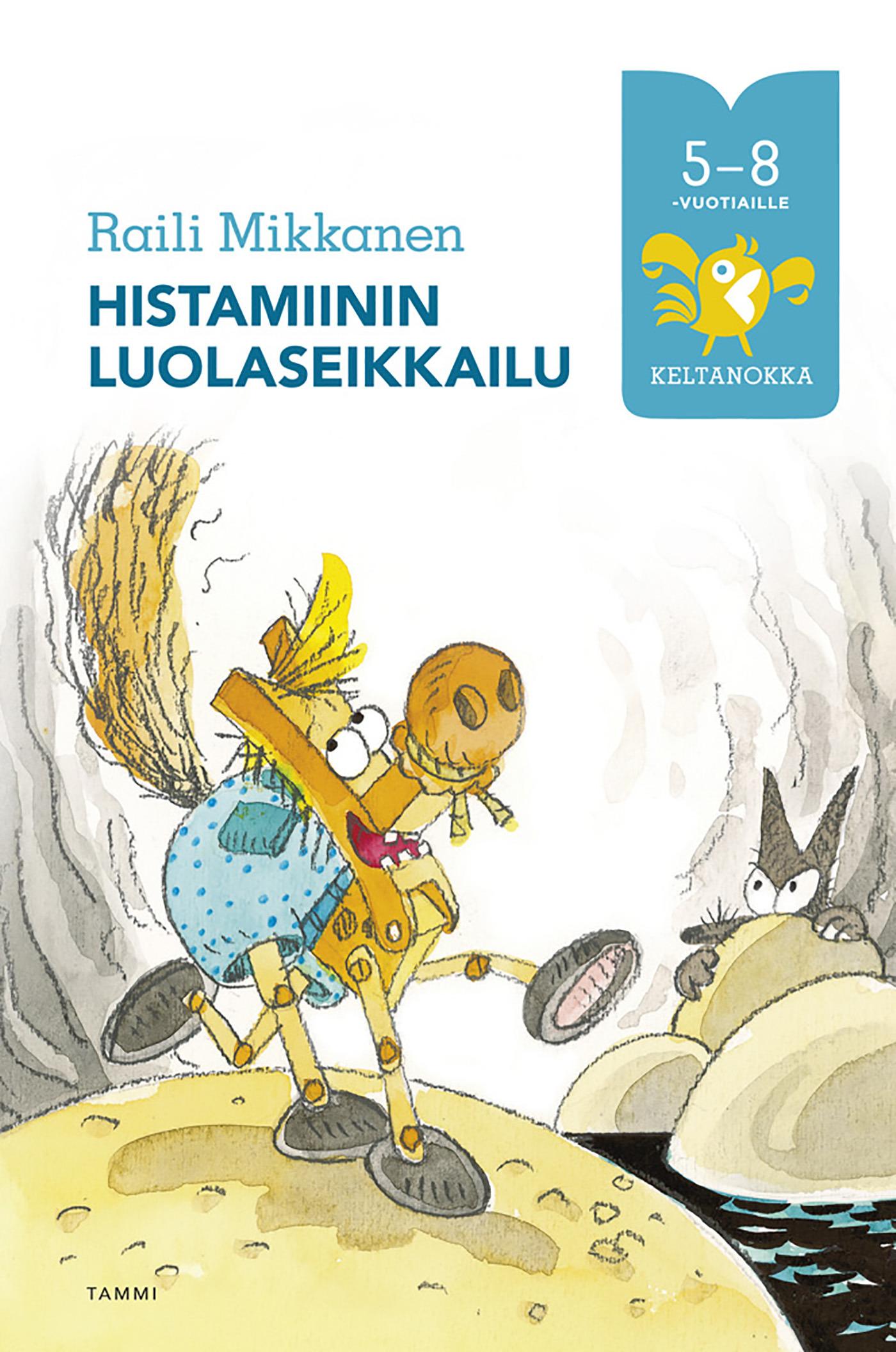 Mikkanen, Raili - Histamiinin luolaseikkailu, e-kirja