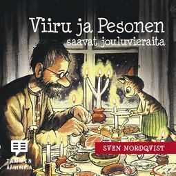 Nordqvist, Sven - Viiru ja Pesonen saavat jouluvieraita, äänikirja