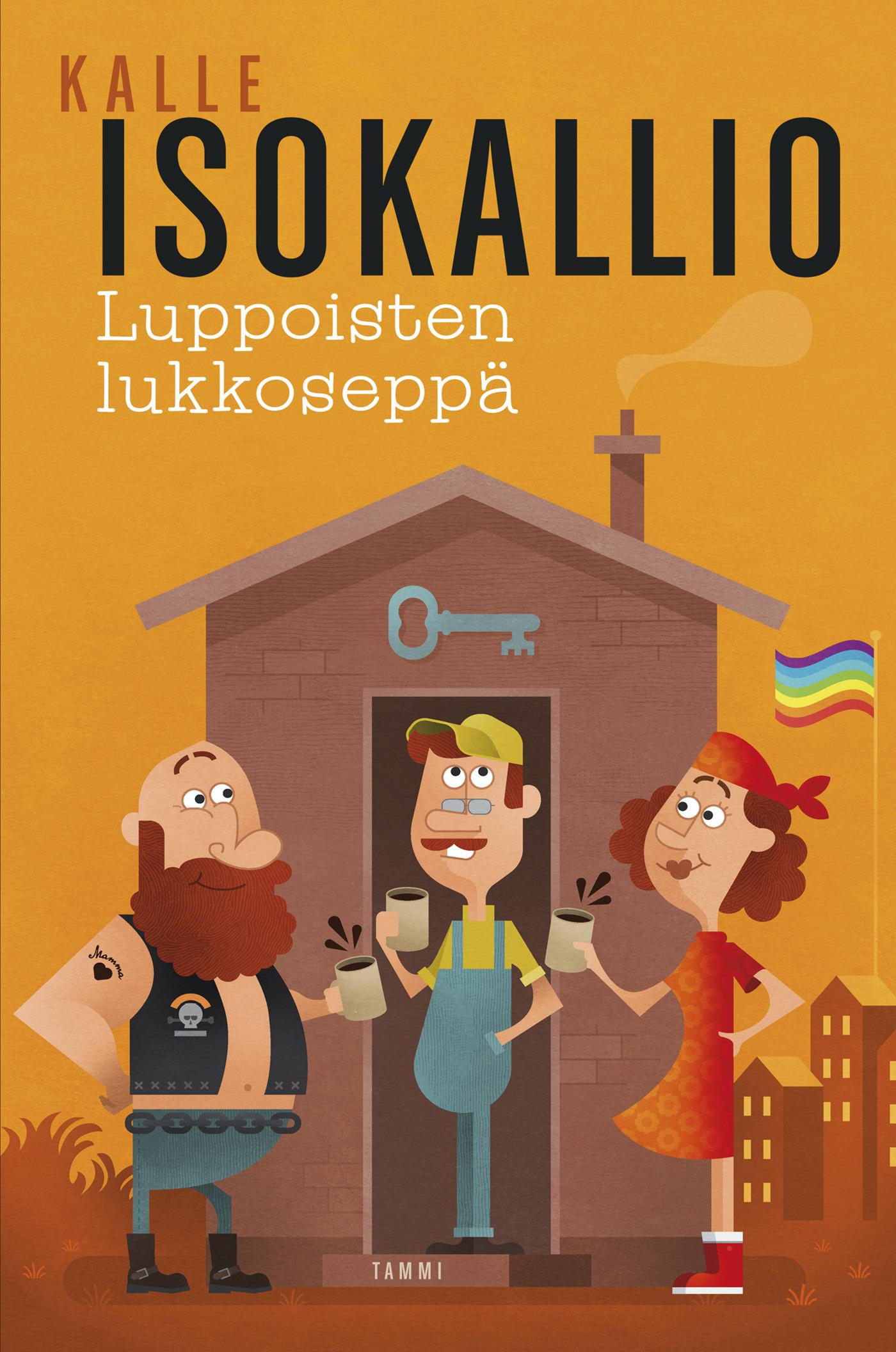 Isokallio, Kalle - Luppoisten lukkoseppä, e-kirja