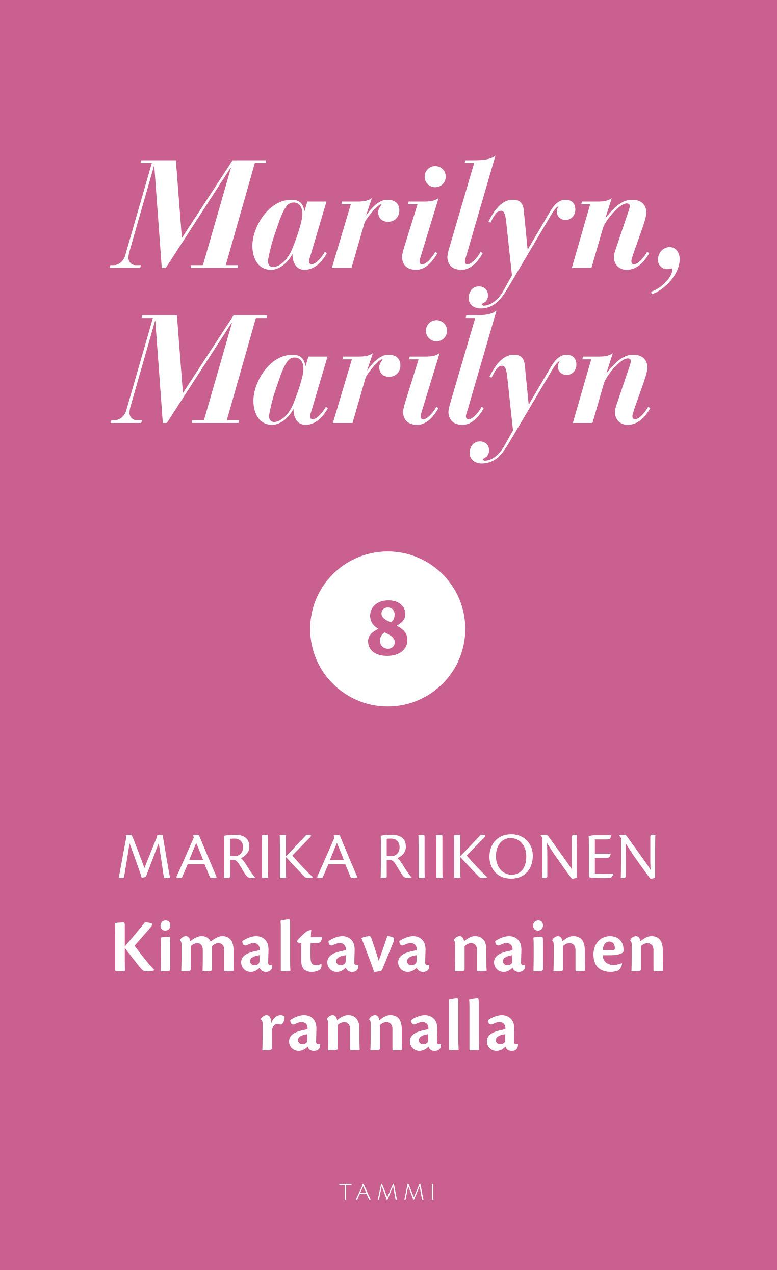 Riikonen, Marika - Marilyn, Marilyn 8: Kimaltava nainen rannalla, e-kirja