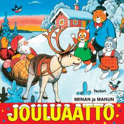 Teutori - Miinan ja Manun jouluaatto, äänikirja