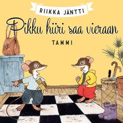 Jäntti, Riikka - Pikku hiiri saa vieraan, äänikirja