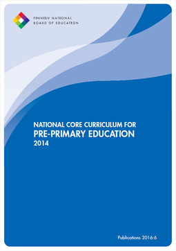 Opetushallitus - National Core Curriculum for Pre-primary Education 2014, e-bok