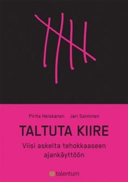 Heiskanen, Pirita - Taltuta kiire: viisi askelta tehokkaaseen ajankäyttöön, e-kirja