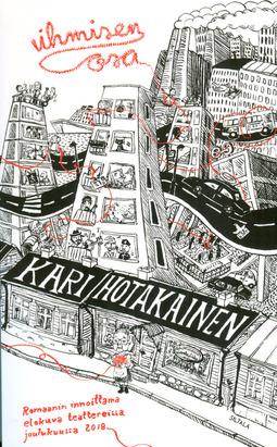 Hotakainen, Kari - Ihmisen osa, e-bok
