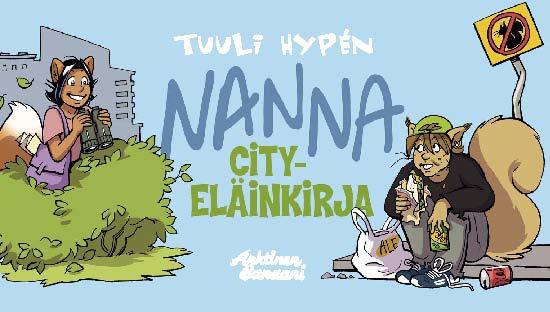 Hypén, Tuuli - Nanna: Cityeläinkirja, e-kirja