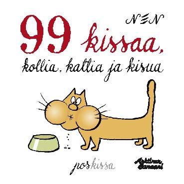 NEN - 99 kissaa, kattia, kollia ja kisua, e-kirja