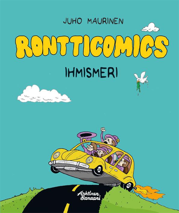 Maurinen, Juho - Rontticomics - Ihmismeri, e-kirja