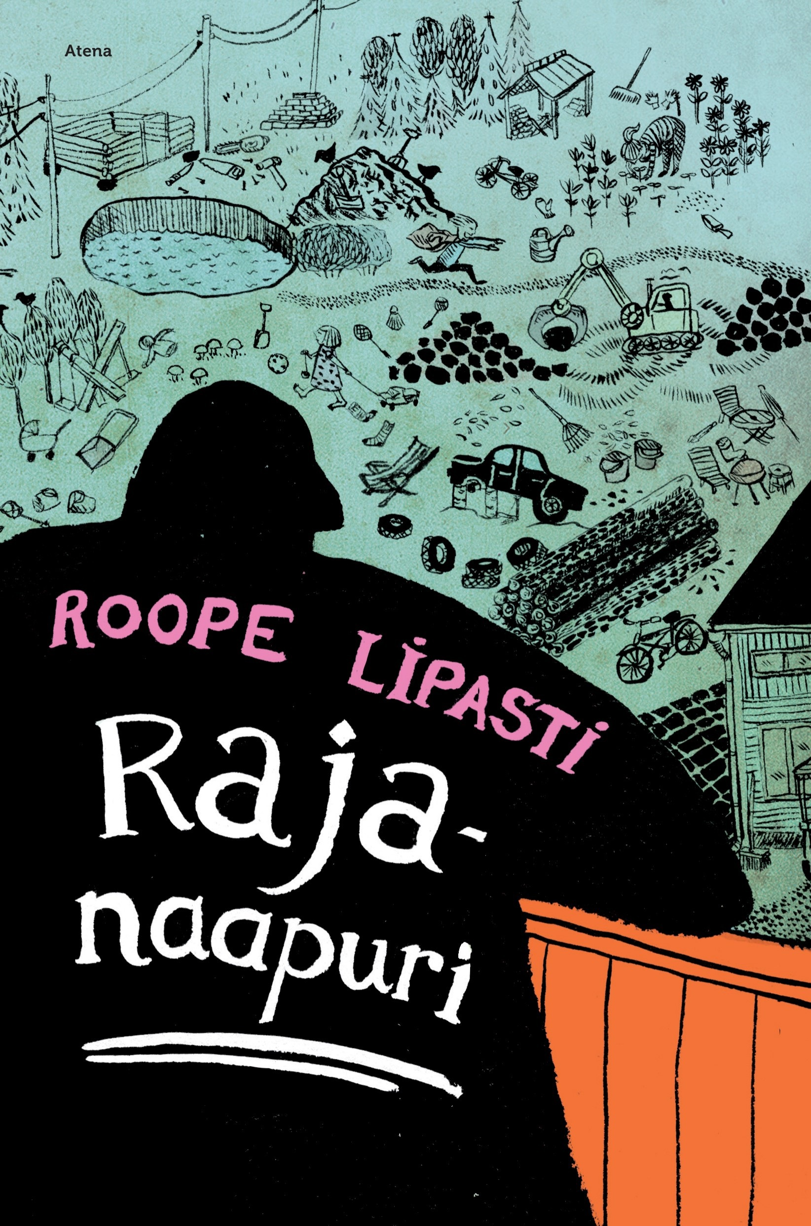 Lipasti, Roope - Rajanaapuri, äänikirja