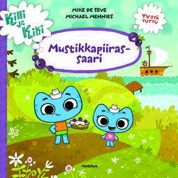 Mennies, Michael - Killi ja Kiki - Mustikkapiirassaari, e-kirja