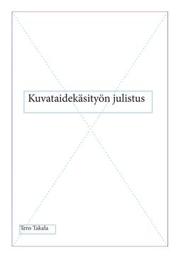 Takala, Tero - Kuvataidekäsityön julistus, e-kirja