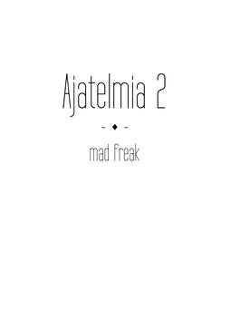 freak, mad - Ajatelmia 2, e-kirja
