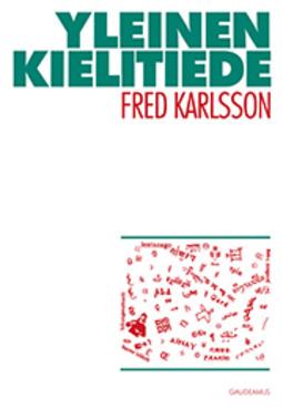 Karlsson, Fred - Yleinen kielitiede, e-kirja