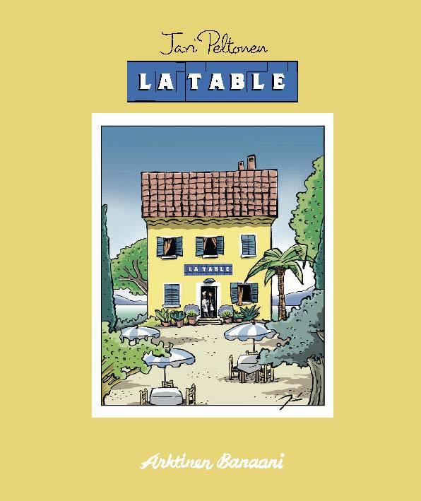 Peltonen, Jari - La Table, e-kirja