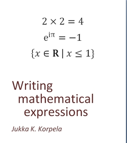 Korpela, Jukka K. - Mathematical Expressions, ebook