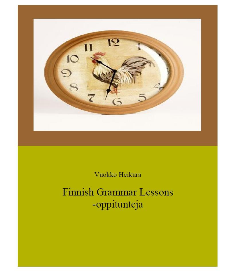 Finnish grammar lessons -oppitunteja