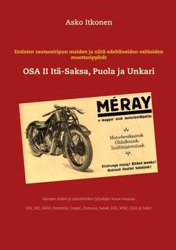 Itkonen, Asko - Entisten rautaesiripun maiden ja niitä edeltäneiden valtioiden moottoripyörät: OSA II Itä-Saksa-Puola ja Unkari, e-kirja
