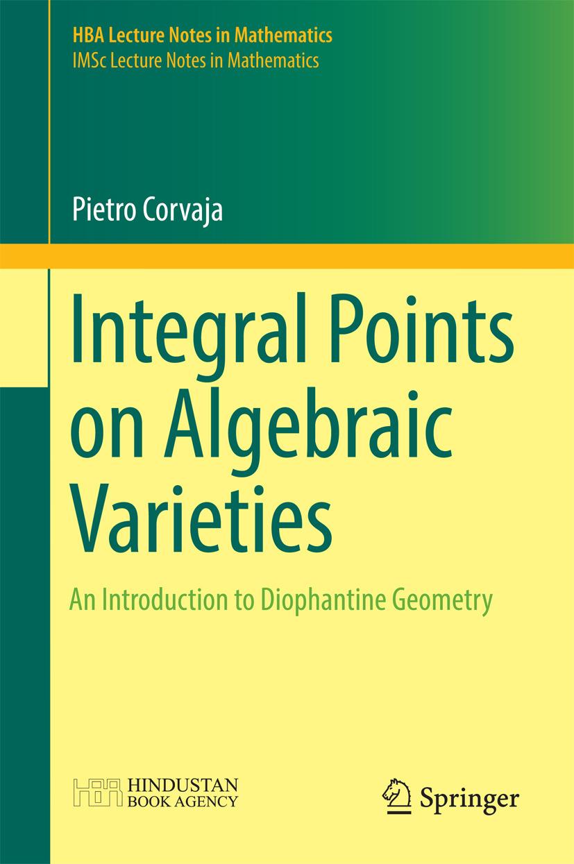 Corvaja, Pietro - Integral Points on Algebraic Varieties, ebook