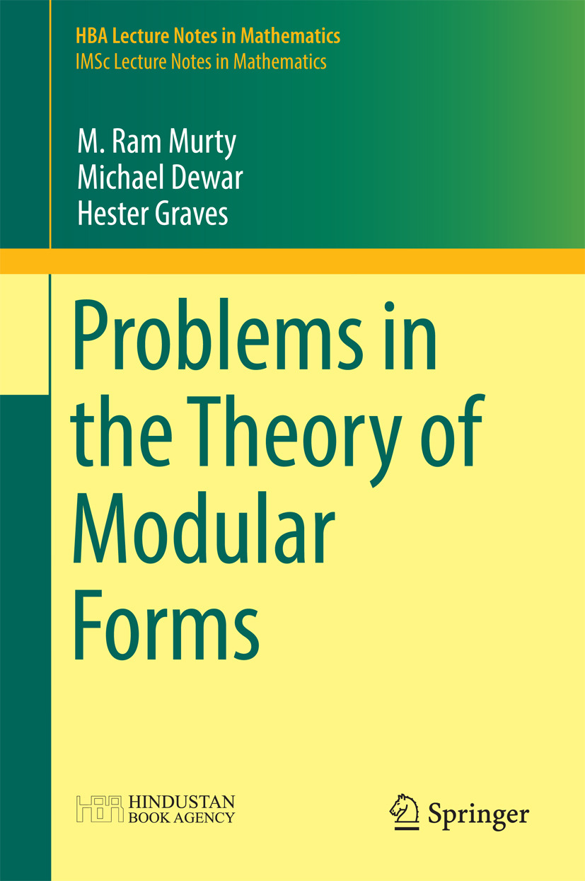 Dewar, Michael - Problems in the Theory of Modular Forms, ebook