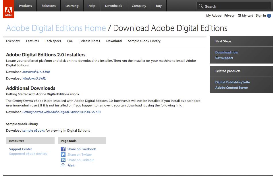 Reader editions epub adobe download digital